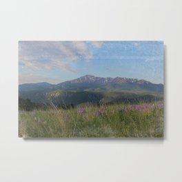 Pikes Peak/ Woodland Park Colorado Metal Print