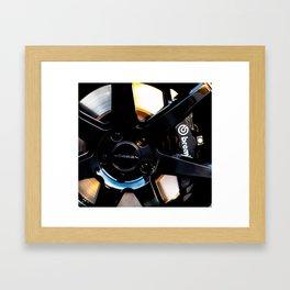 Stopping Power Framed Art Print