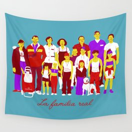 LA FAMILIA REAL Wall Tapestry