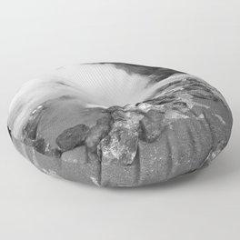 Hot spring Floor Pillow