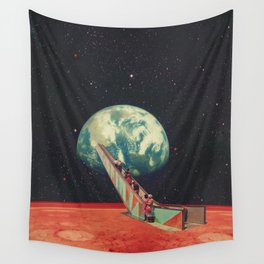 Time to go Home Wall Tapestry