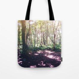 Forest Glare Tote Bag