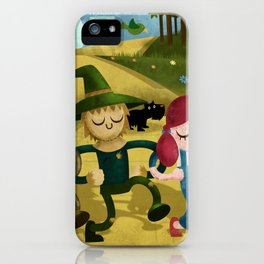Wizard of Oz fan art iPhone Case