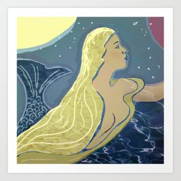 Mermaid / Venus Art Print