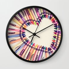 love in every color Wall Clock