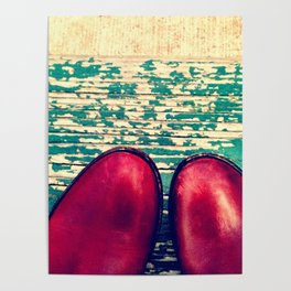 Red Boots and Possibilities Poster