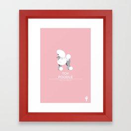 Toy Poodle Framed Art Print