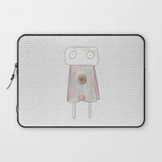 Robot superhero Laptop Sleeve