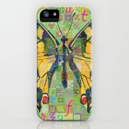 Butterfly (Swallowtail On Green) iPhone Case