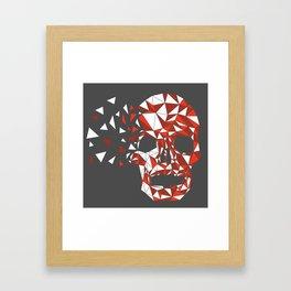 Triskull Framed Art Print