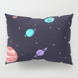 Bright night sky Pillow Sham