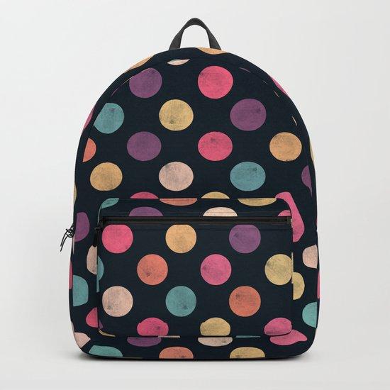 Watercolor Dots Pattern II Backpack
