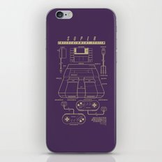 Super Entertainment System (dark) iPhone & iPod Skin