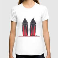 heels T-shirts featuring Mighty Heels by anna hammer