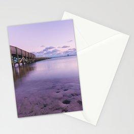 Shoreline Park Pier I Stationery Cards
