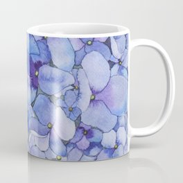 Watercolour Hydrangea Coffee Mug