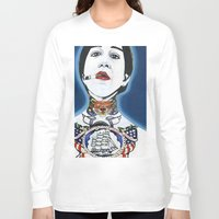 lydia martin Long Sleeve T-shirts featuring Lydia by Skull Car Steveo