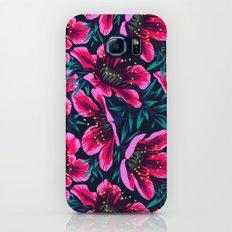 Manuka Floral Print Galaxy S8 Slim Case
