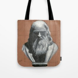 Leonardo Da Vinci Bust Portrait Tote Bag
