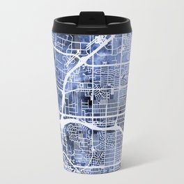 Albuquerque New Mexico City Street Map Travel Mug