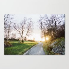 Sunset Norway Canvas Print