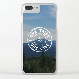 Tribe Vibe Photo Clear iPhone Case