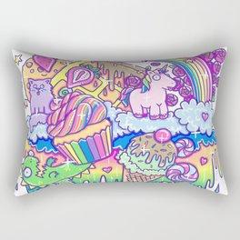 Kawaii Drip Rectangular Pillow