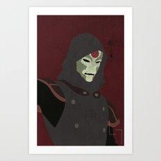 Amon Art Print