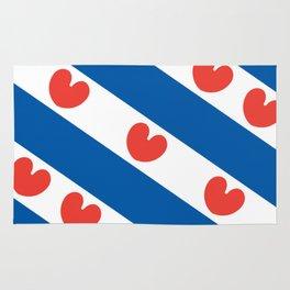 Flag of Friesland Rug