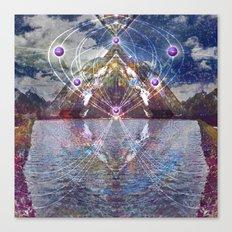 Mountain Eye Canvas Print
