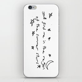 you'll find me in the region of the summer stars (louis) iPhone Skin