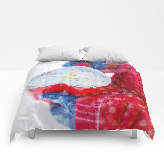 LOVE AND MUG Comforters