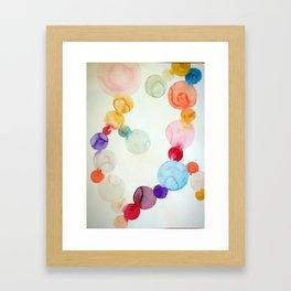 Delicate Worlds  Framed Art Print
