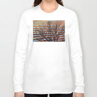 stripe Long Sleeve T-shirts featuring Stripe Resistance by Julie Maxwell