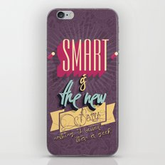 Smart is the new Sexy! iPhone & iPod Skin