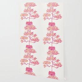 Bonsai Tree – Pink Palette Wallpaper