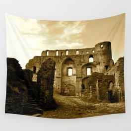 ruins Wall Tapestry