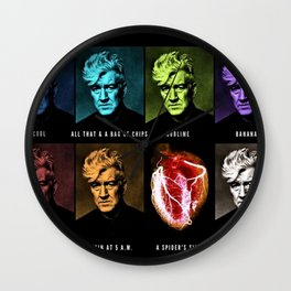 All That & A Bag of Chips - Hip Pop Art - Jéanpaul Ferro Wall Clock