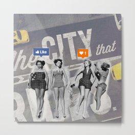 Mix POP-ART design Metal Print