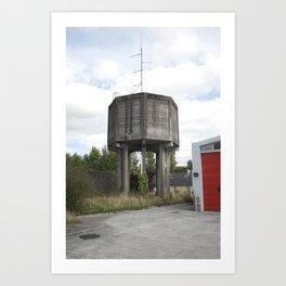 Callan #02 - Water Towers of Ireland Art Print