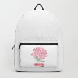 Botanical Brushstrokes ● Peony Pastel Backpack