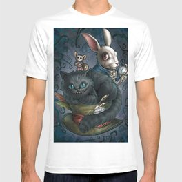 The Cheshire Cat and his friends T-shirt