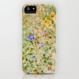Floral Interlace iPhone Case