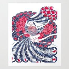 Deva (Maiden) Art Print