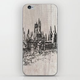 Hogwarts School of Witchcraft and Wizardry iPhone Skin