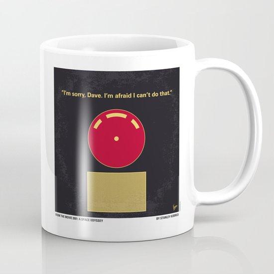 No003 My 2001 A space odyssey 2000 minimal movie poster Mug