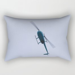 Chopper Above Rectangular Pillow