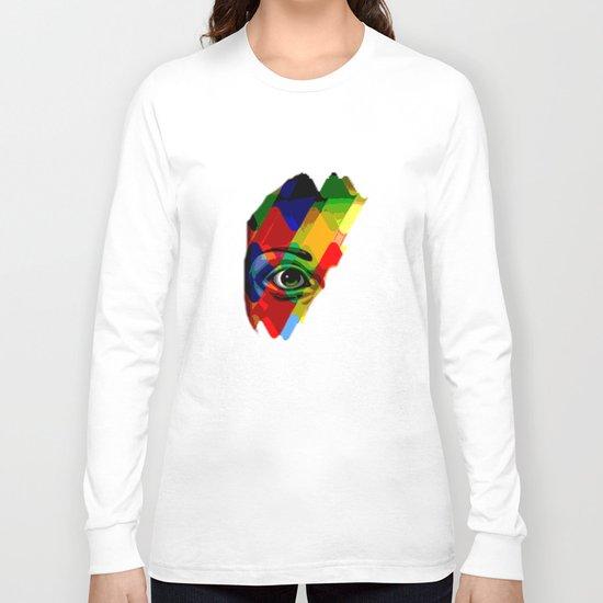 eye posterize Long Sleeve T-shirt