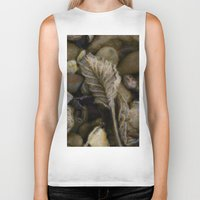 leaf Biker Tanks featuring Leaf by LoRo  Art & Pictures