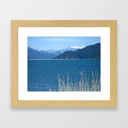Blue Vista Framed Art Print